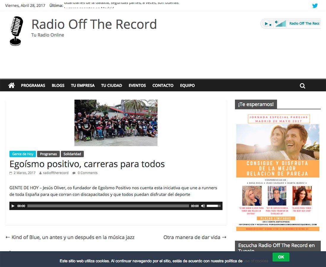 RADIO OFF THE RECORD
