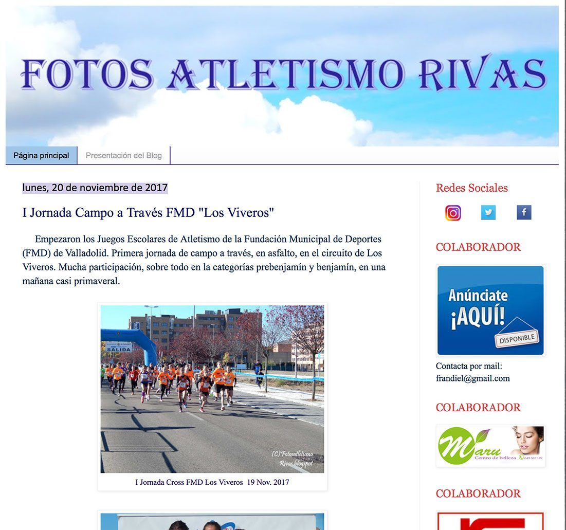 FOTOS ATLETISMO RIVAS