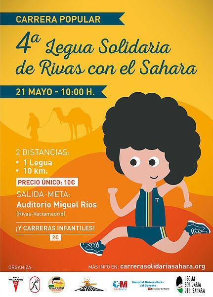 """IV LEGUA SOLIDARIA""""RIVAS con el SAHARA"""""""